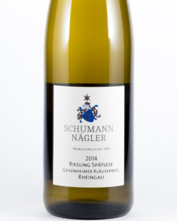 Schumann Spät